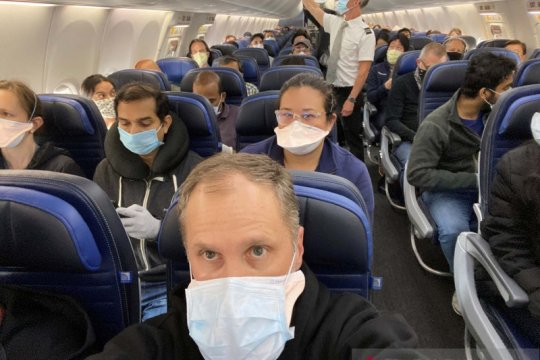 Pegawai United Airlines ajukan gugatan soal cuti tak dibayar
