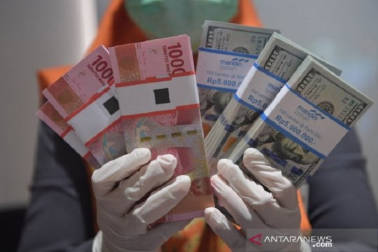 Rupiah masih lanjut melemah meski imbal hasil obligasi AS turun