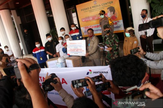 Pertamina salurkan bantuan senilai Rp2 miliar untuk lawan COVID-19