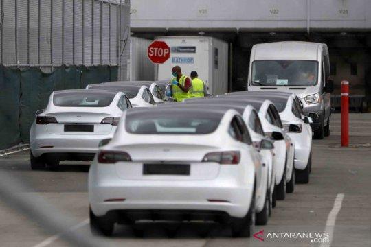 Tesla mobil impor terlaris ketiga di Korsel, setelah Mercy dan BMW