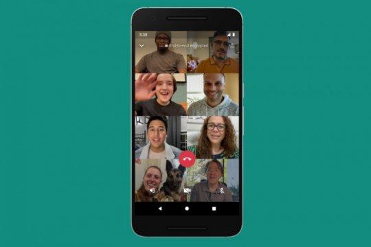 WhatsApp bakal bisa untuk video call 50 orang