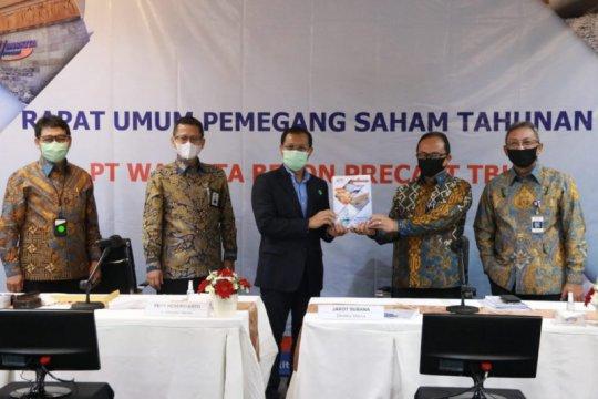 Waskita Beton Precast bukukan laba bersih Rp806,1 miliar pada 2019