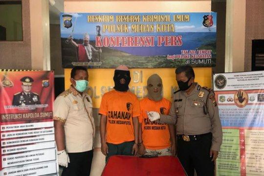 Polisi ringkus dua warga Medan miliki sabu-sabu