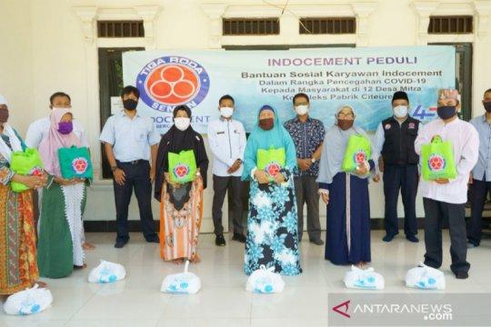 Indocement kirim bantuan Ramadhan ke desa-desa di Citeureup Bogor
