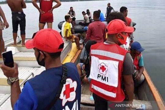 PMI bantu evakuasi pesawat jatuh di Danau Sentani Papua