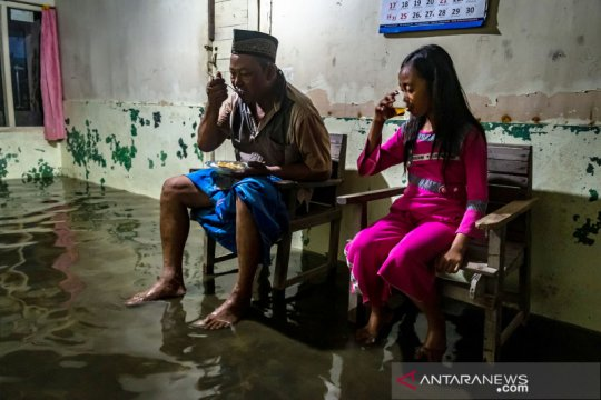 Ancaman banjir membayangi wilayah pesisir