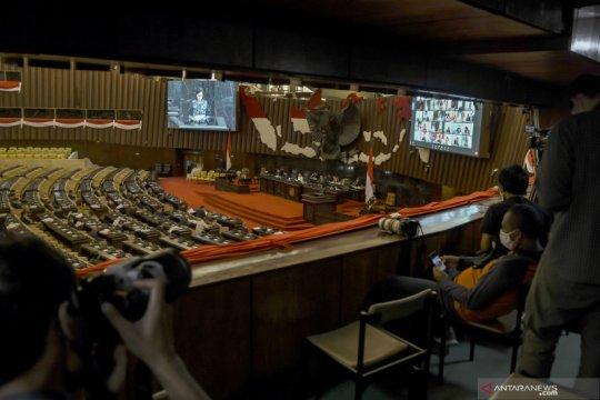 Total lima perkara pengujian UU 2/2020 disidangkan di MK