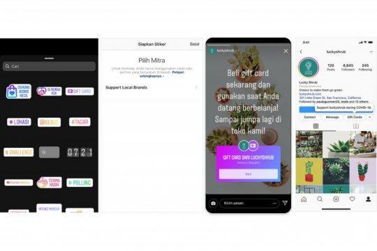 Instagram luncurkan fitur dukung UMKM lokal