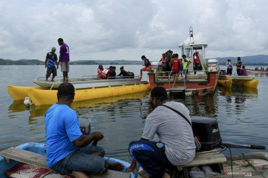 Ini kronologi pesawat Cessna jatuh di Danau Sentani, pilot tewas
