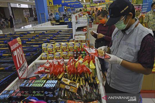 Sidak parcel dan makanan di Serang