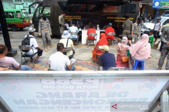 Pemkot Bogor berlakukan sanksi mulai hari keempat PSBB