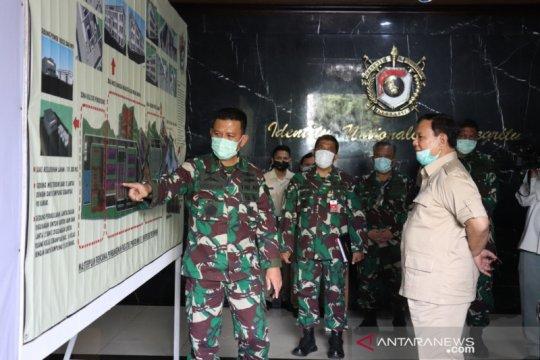 Menhan Prabowo cek kesiapan Unhan membuka fakultas dan prodi baru