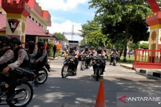 Cegah penyebaran COVID-19, Polisi gelar patroli skala besar di Medan