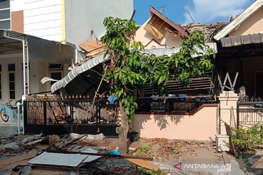 Polrestabes Medan  ledakan di Cemara Asri diduga dari tabung gas