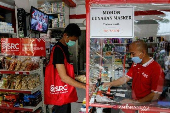 Ribuan toko kelontong terapkan tindakan preventif lawan pandemi