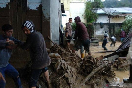 57 rumah dan kendaraan rusak akibat banjir bandang Aceh Tengah