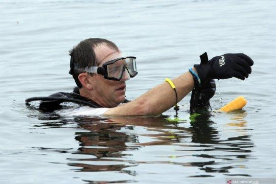 Pencarian kotak hitam pesawat jatuh di Danau Sentani