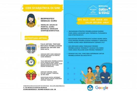Google gandeng operator seluler sediakan internet gratis untuk guru