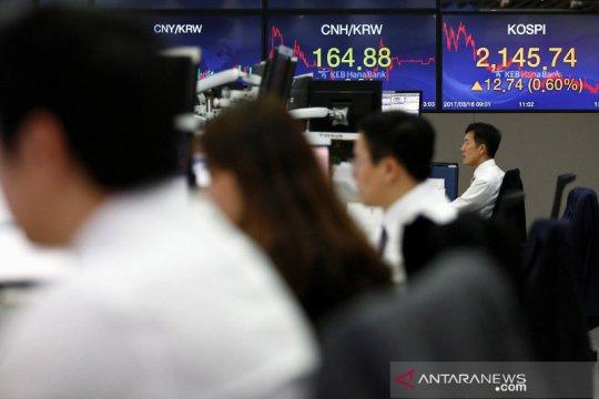 Saham Korsel menguat, kekhawatiran pertumbuhan Asia batasi kenaikan