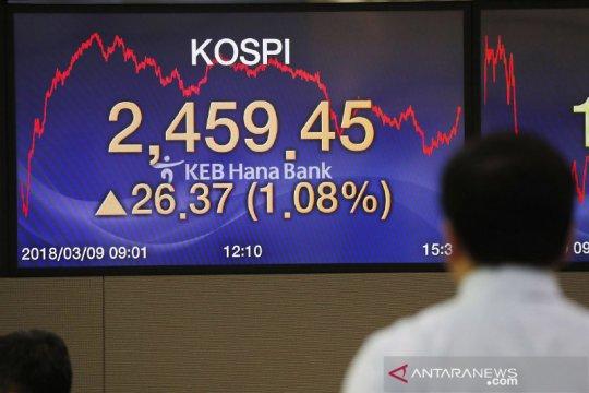 Saham Korsel lanjutkan kenaikan, Indeks KOSPI melambung 1,65 persen
