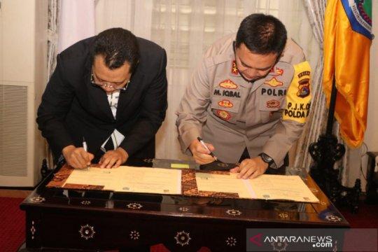 Gubernur-Kapolda NTB teken kesepakatan penanganan ketertiban umum