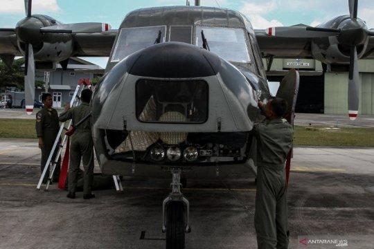 20 ton garam disiapkan untuk operasi TMC di Riau