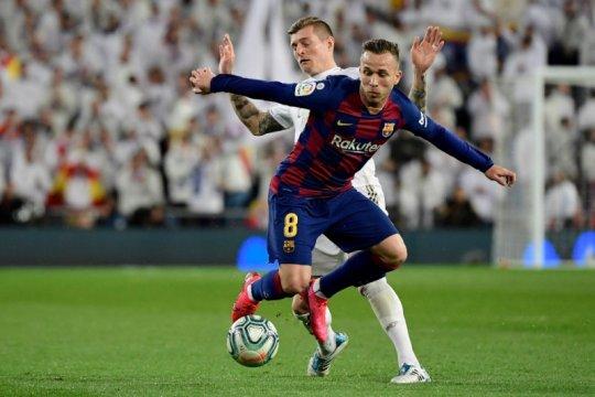 Arthur Melo tak mau tinggalkan Barca