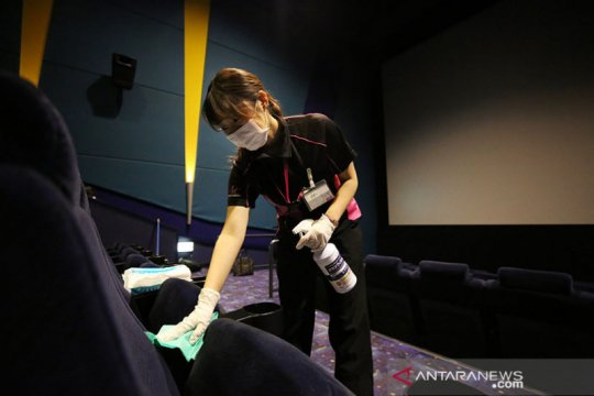 Bioskop di Jepang akan kembali dibuka pada akhir pekan