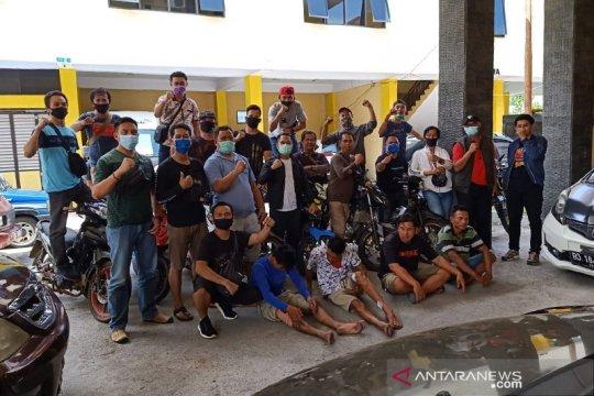 Curi 11 motor, dua narapidana asimilasi di Bengkulu ditangkap