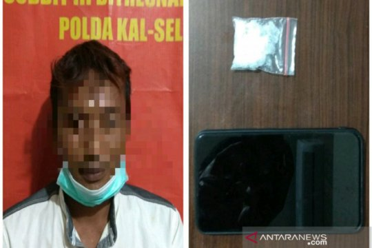 Polda Kalsel ringkus dua buruh edarkan sabu-sabu di Banjarmasin