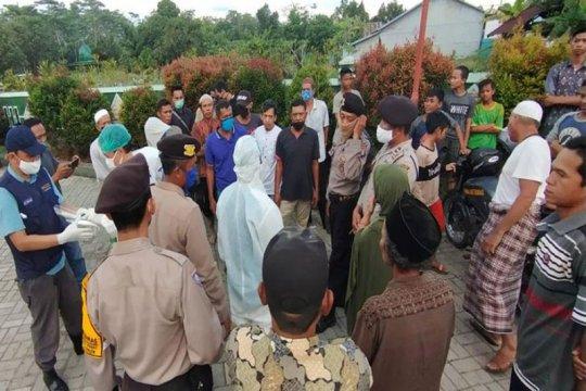 Pemakaman jenazah PDP COVID-19 di Kapuas mendapat penolakan warga