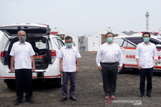Toyota kirim bantuan penanganan COVID-19 kepada PMI dan Kemenkes