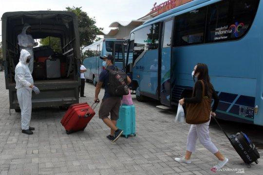 Pekerja migran Indonesia tiba di Denpasar