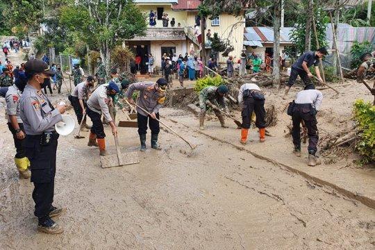 Akses jalan di lokasi banjir bandang Aceh Tengah sudah bisa dilalui