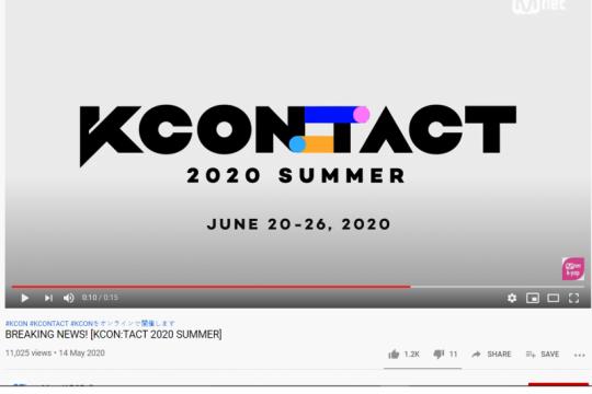 Festival K-pop global KCON akan digelar via daring karena COVID-19