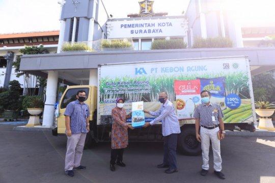 Pemkot Surabaya terima bantuan 5 ton beras dan 2 ton gula