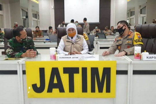 Pemprov Jatim gandeng TNI-Polri terapkan kampung tangguh di Surabaya