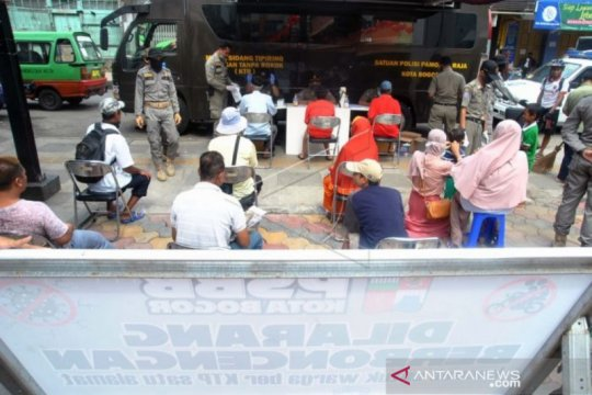 Pemkot Bogor siapkan sanksi pada PSBB III di Kota Bogor