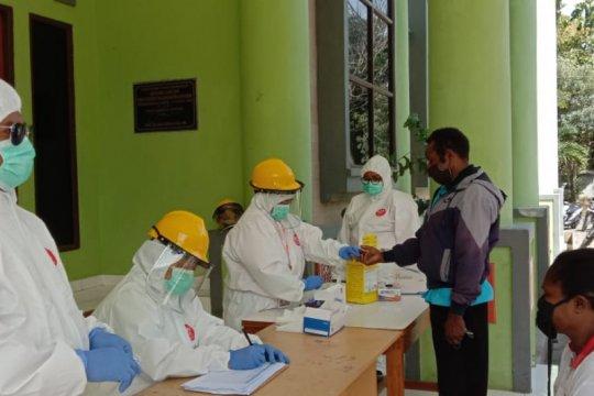 "Lebih 4.000 warga Kabupaten Jayapura-Papua telah jalani ""rapid test"""