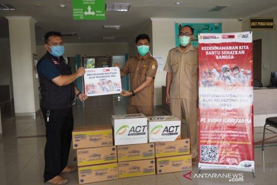ACT berikan APD ke rumah sakit Lombok Timur