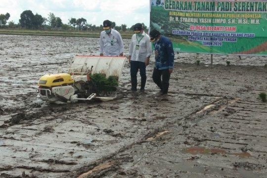 Kementan dorong Kalteng jadi lumbung pangan Indonesia
