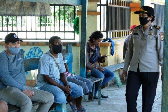 Operasi Bina Kusuma 1 Matoa untuk imbau warga Jayapura cegah corona