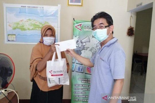 LKBN ANTARA bagikan sembako ke warga Gorontalo terdampak COVID-19