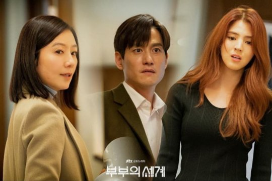 """The World of the Married"" cetak rekor sejarah TV kabel Korea"