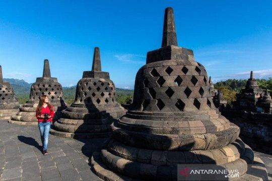 Pengelola Taman Wisata Borobudur simulasi penerapan normal baru