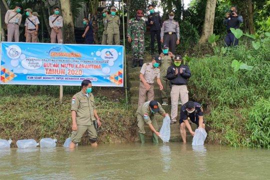 KKP tebar 10.000 benih ikan di perbatasan RI-Malaysia