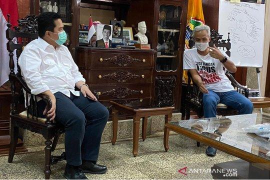 "Erick-Ganjar bahas bangkitkan UMKM dalam kerangka ""new normal"""