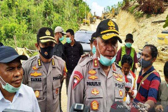Pospol di Paniai Papua diserang OTK, empat pucuk senpi dibawa kabur