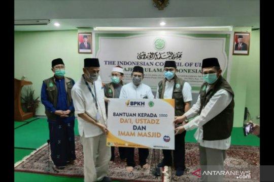 BPKH salurkan sembako bagi pegawai penyelenggara haji dan umrah