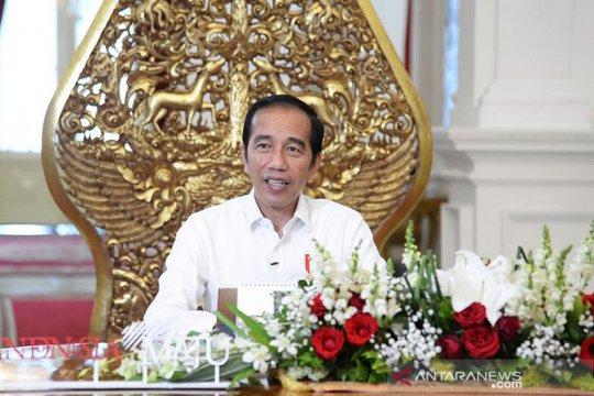 Presiden Jokowi siapkan 4 insentif bagi petani nelayan jaga pangan